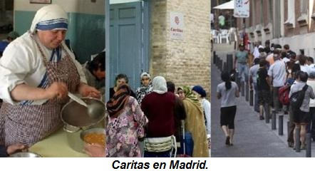 Caritas en Madrid